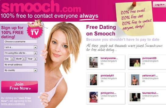 Smooch Dating login dans